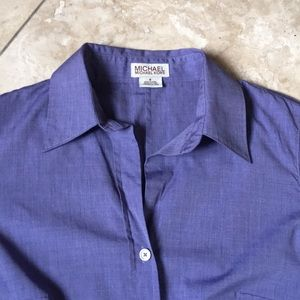 Michael Kors Nice color! light purple fitted shirt